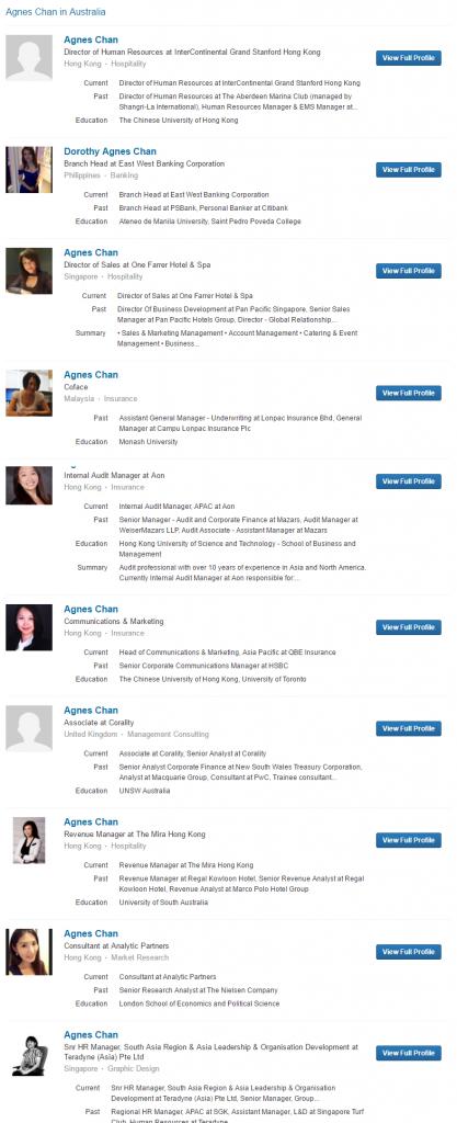 Top 10 Agnes Chan profiles   LinkedIn